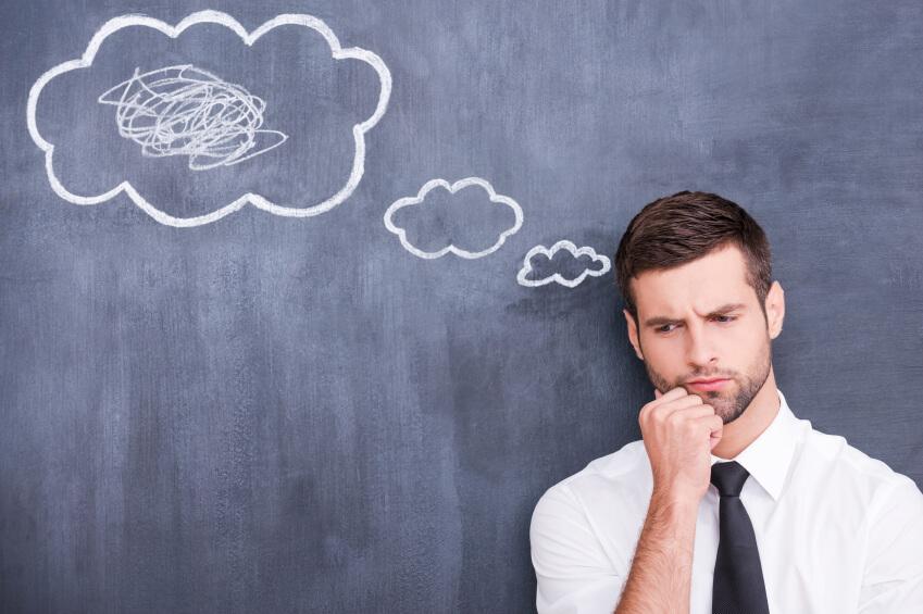 Výsledek obrázku pro men thinking
